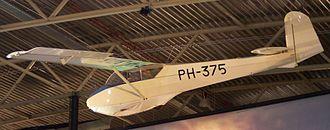 Schleicher Ka-4 Rhönlerche II - Museum Rhönlerche display