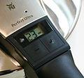 Schnelldrucktopf 4,5 Liter Perfect Ultra Timer Nahaufnahme.jpg