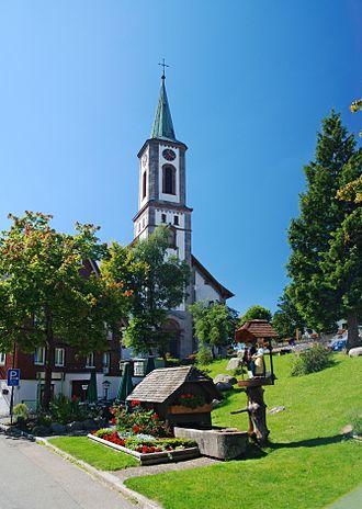 Schönwald im Schwarzwald - Church of Saint Anthony