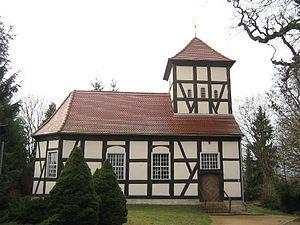 Schwielowsee (municipality) - Church of the fishermens' village of Ferch