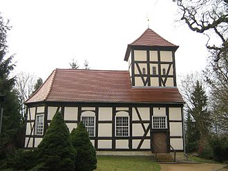 Schwielowsee (municipality) - Church of the fishermens' village of Ferch