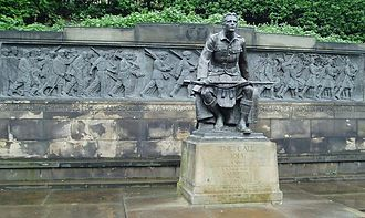 R. Tait McKenzie - Scots American War Memorial (1927), Edinburgh, Scotland