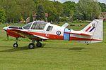 Scottish Aviation Bulldog 121 'XX513 - 10' (G-KKKK) (33062216826).jpg