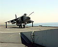 Sea Harrier 801 NAS taking off HMS Illustrious (R06) 1998.JPEG