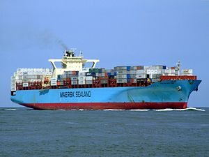Sealand New York p07 approaching Port of Rotterdam, Holland 08-Jul-2007.jpg