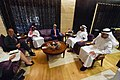 Secretary Kerry Sits With UAE Crown Prince Mohammed bin Zayed, Foreign Minister Abdullah bin Zayed, and National Security Adviser Tahnoon Before a Meeting in Abu Dhabi (27448502742).jpg