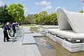 Secretary Kerry and His G7 Counterparts Lay Wreaths at the Hiroshima Peace Memorial Park (26090274830).jpg