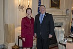 Secretary Pompeo meets with Ms. Fore, Executive Director of UNICEF (46857441654).jpg
