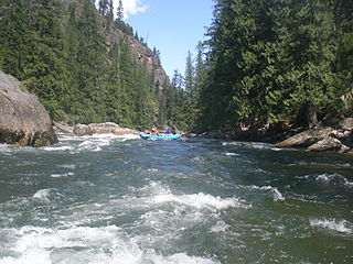 Selway River river in the United States of America