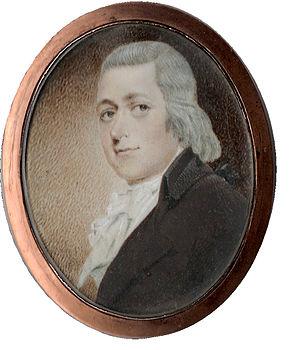 Liberty Hall (Frankfort, Kentucky) - Senator John Brown miniature portrait