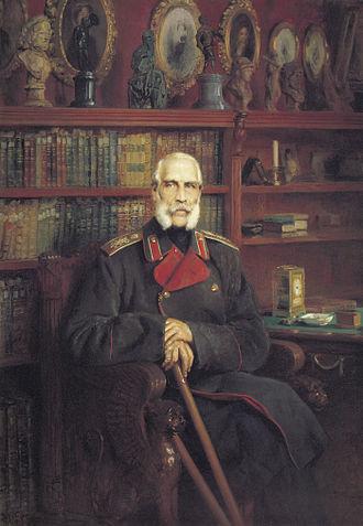 Stroganov family - Count Sergei G. Stroganov by Konstantin Makovsky, 1881