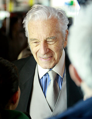 Sergiu Nicolaescu - Sergiu Nicolaescu at the premiere of Last corrupt in Romania