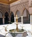 Seville - Courtyard In Alcazar (2690368029).jpg