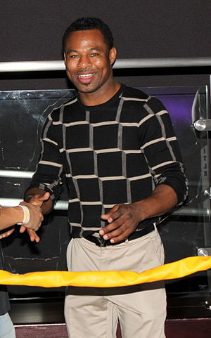 Shane Mosley - Mosley at the Club Nokia in September 2010