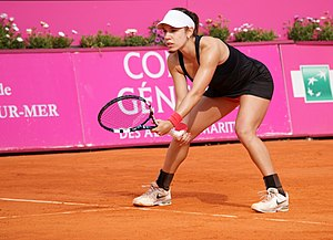 Sharon Fichman - Fichman at the 2014 Open GDF Suez de Cagnes-sur-Mer Alpes-Maritimes