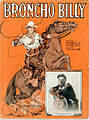 Sheet music cover - BRONCHO BILLY (1914).jpg