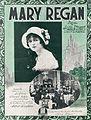 Sheet music cover - MARY REGAN (1919).jpg