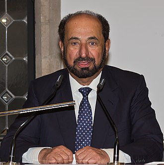 Federal Supreme Council - Image: Sheik Qasimi, Sharjah, im Kölner Rathaus 0212