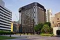 Shin Sheng Daily News Plaza view from Zhongshan Hall Square 20160507.jpg