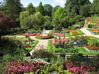 The Quarry (park) Park in Shrewsbury, England
