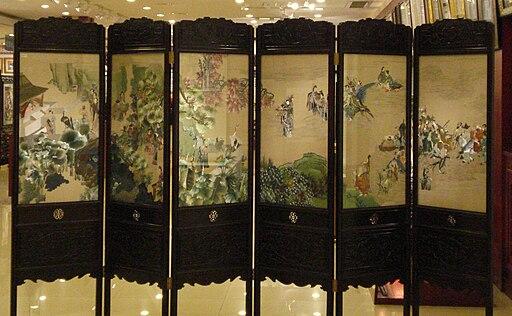 Shuzhou.manufaktura.jedwabny.haft.artystyczny
