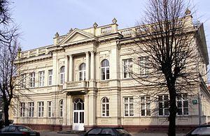 Šiauliai - Former Šiauliai Jewish school