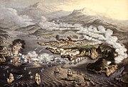 Siege of Sevastopol by George Baxter