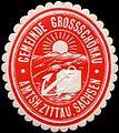 Siegelmarke Gemeinde Grossschönau - Amtsh. Zittau, Sachsen W0219347.jpg