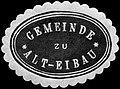 Siegelmarke Gemeinde zu Alt - Eibau W0246194.jpg