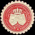 Siegelmarke Hofchef Ihrer Königlichen Hoheit der Landgräfin von Hessen Prinzessin Anna von Preussen W0226551.jpg