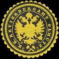 Siegelmarke K.K. Revierbergamt Olmütz W0338571.jpg