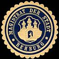 Siegelmarke Magistrat der Stadt - Rehburg W0234746.jpg
