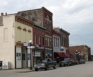 National Register of Historic Places listings in Keokuk County, Iowa - Image: Sigourney iowa