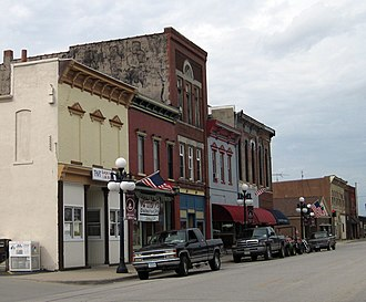 Sigourney, Iowa - Image: Sigourney iowa