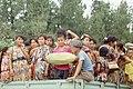 Silk Road 1992 (4367457977) Children holding fruit in Xinjiang.jpg
