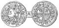 Silvermynt slaget för Olof Skötkonung, Nordisk familjebok.png