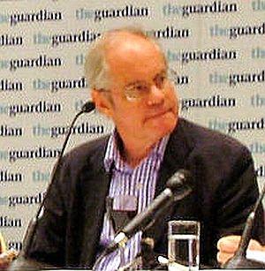 Simon Hoggart - Simon Hoggart at The Guardian fringe meeting, Liberal Democrat Conference, Brighton, autumn 2006