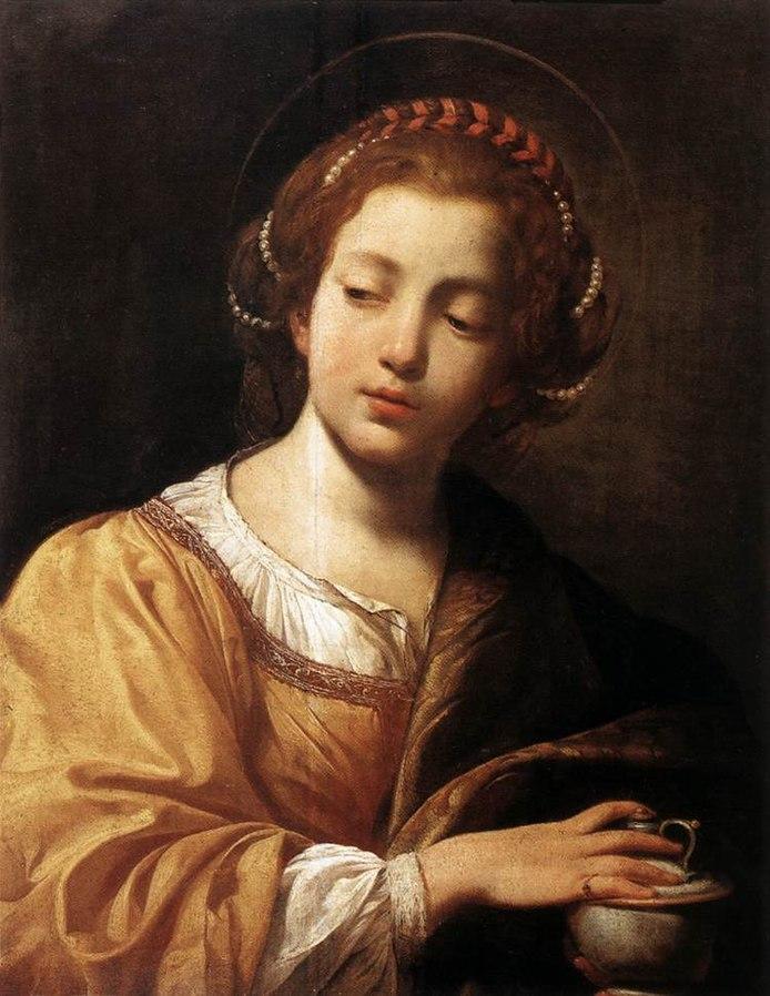 Simon Bouet: María Magdalena. Obra ejecutada entre 1614-1615.