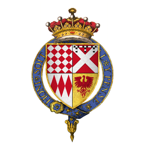 William FitzWilliam, 1st Earl of Southampton - Image: Simplified arms of Sir William Fitz William, 1st Earl of Southampton, KG