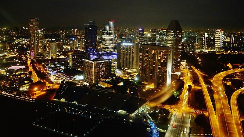 File:Singapore Marina Bay viewed from Marina Bay Sands bei Nacht 09.jpg