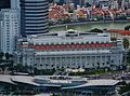 Singapore The Fullerton Hotel viewed from Marina Bay Sands.jpg