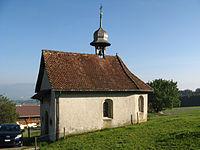 Sins Andreaskapelle Holderstock aussen.jpg