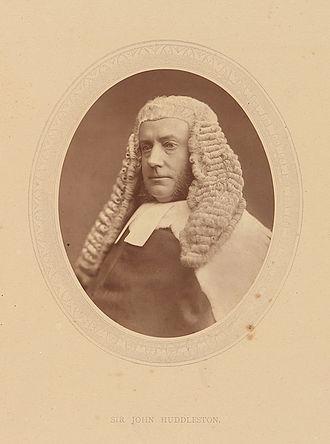 R v Dudley and Stephens - Baron Huddleston