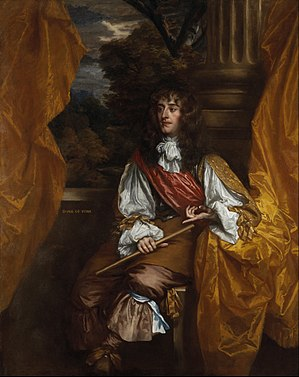 Peter Lely - James VII and II, Duke of York, 1661