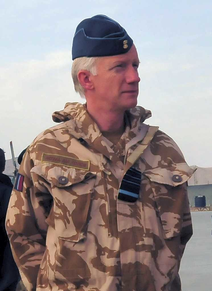 Sir Stephen Dalton in Afghanistan