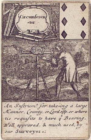 History of engineering - Image: Six of diamonds Circumference