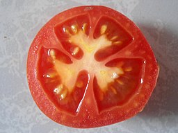 Sliced Round Tomato at Madhurawada