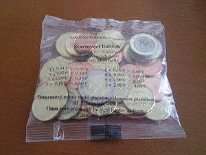 Slovak euro coins - Slovak euro coins starting set