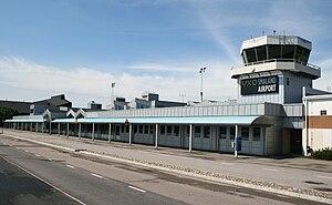 Växjö Småland Airport - Image: Smaland Airport