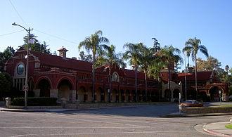 Redlands, California - A.K. Smiley Public Library